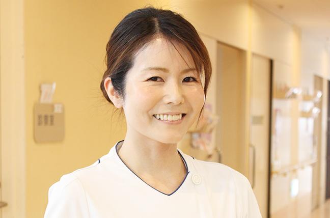 【画像】Ⅲ号館1階病棟担当看護師:直井 里美